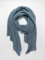 Pieces sjaal pcPyron Long grijs