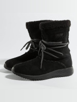 Project Delray Boots Wavy Lux High schwarz