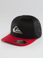 Quiksilver Fitted Cap Mountain And Wave schwarz
