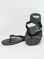 Quiksilver Slipper/Sandaal Molokai Slash Fade Logo zwart