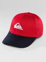 Quiksilver Snapback Caps Decades red