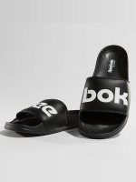 Reebok Slipper/Sandaal Classic zwart
