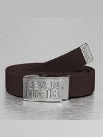 Seven Nine 13 Belts Jaws Stretch brun