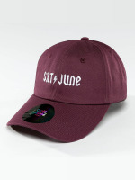 Sixth June Snapback Caps Logo fioletowy