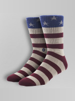 Stance Chaussettes The Fourth rouge