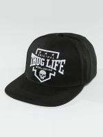 Thug Life Snapback Cap Worldwide schwarz
