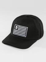 Thug Life Snapback Cap Flag schwarz