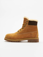 Timberland Boots 6 In Premium Waterproof Shearling Lined beis