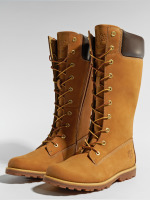 Timberland Women Boots Asphalt Trail Classic Tall Lace-Up beige