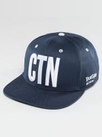TrueSpin Snapback Cap Shorty CNT blau