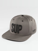 TrueSpin Snapback Cap Shorty SUP grau