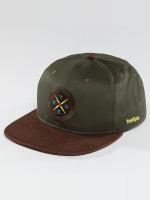 TrueSpin Snapback Cap Twister verde