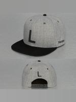 TrueSpin Snapback Caps ABC-L Wool šedá