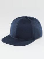 TrueSpin Snapback Caps Blank blå