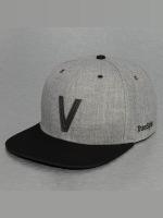 TrueSpin Snapback Caps ABC-V Wool grå
