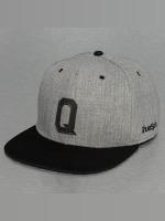 TrueSpin Snapback Caps ABC-Q Wool harmaa