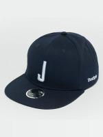TrueSpin Snapback Caps Kids ABC J modrý