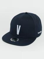 TrueSpin Snapback Caps Kids ABC V modrý