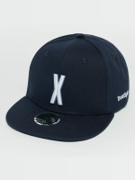 TrueSpin Snapback Caps Kids ABC X modrý