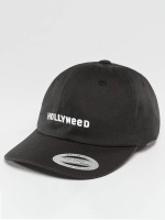 TurnUP Snapback Caps Hollyweed czarny