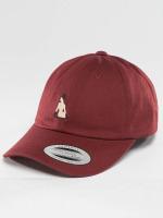 TurnUP Snapback Caps Broke czerwony
