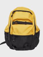 Urban Classics Backpack Colourblocking yellow