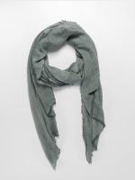 Urban Classics Echarpe Uni Colour Mesh gris