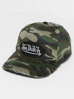 Von Dutch Snapback Cap Strapback camouflage