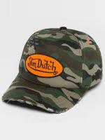 Von Dutch Snapback Camo Destroyed maskáèová