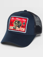 Von Dutch Trucker Caps Tiger niebieski