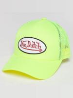 Von Dutch Verkkolippikset Trucker keltainen