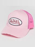 Von Dutch Verkkolippikset Trucker vaaleanpunainen