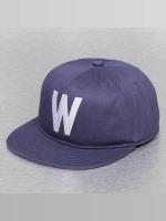 Wemoto snapback cap Boston blauw