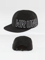 Wrung Division 5 Panel Cap Side black