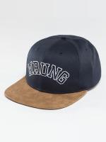 Wrung Division Snapback Caps Block blå