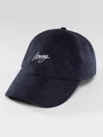 Wrung Division Snapback Caps Daim niebieski
