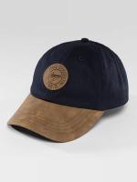 Wrung Division Snapback Caps Duke niebieski