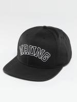 Wrung Division Snapback Caps Block svart