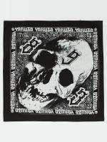 Yakuza Bandana/Durag Skull svart