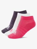adidas originals Strumpor 3-Stripes Per n-s HS 3-Pairs rosa