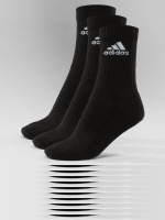 adidas Performance Chaussettes Performance 3-Stripes Performance Crew noir
