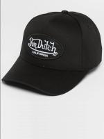Von Dutch Snapback Cap California schwarz