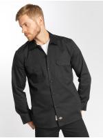 Dickies overhemd Longsleeve Slim Work zwart