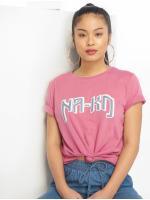 NA-KD T-Shirt Logo pink