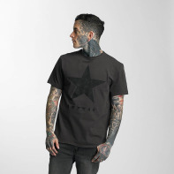 Amplified bovenstuk / t-shirt David Bowie Blackstar in grijs