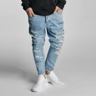 Cayler & Sons Jeans / Straight fit jeans Raw in blauw