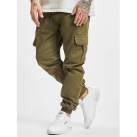 Urban Classics broek / joggingbroek Cargo Jogging in olijfgroen