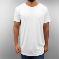 Urban Classics bovenstuk / Tall Tees Shaped Neopren Long in wit