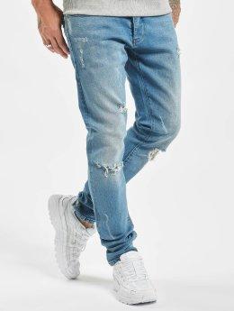 2Y dżinsy przylegające Archie niebieski