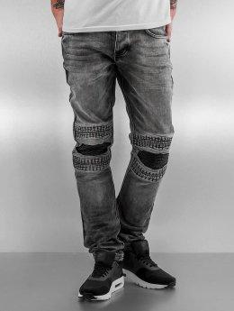 2Y Jean slim Knee gris